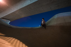 The Bowl (Evan's Life Through The Lens) Tags: camera sony a7rii lens glass metabones adapter canon wide 1635mm f28 beautiful color vibrant friends adventure explore long exposure longexposure night sky blue stars amazing city cityscape skatepark outdoors