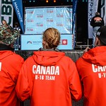 Coveted Team Canada jackets at closing ceremonies  - Photo by Shea MacNeil - coastphoto.com