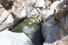 Hermit Falls (justintimeforrice) Tags: hermitfalls california ca unitedstates us composite jumping pool water rocks backflip nature scenery