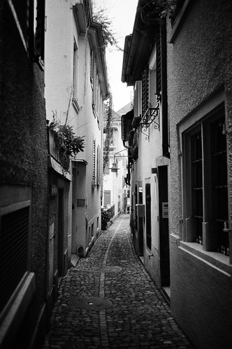 back alley