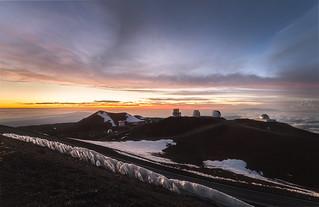 La cumbre del Mauna Kea