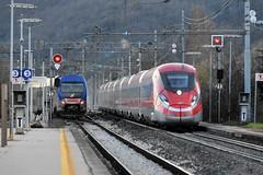 Taf + FR 1000 (luciano.deruvo) Tags: taf fr frecciarossa100 fs trenitalia regionale etr400 rfi ferroviedellostato