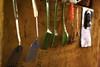 Esperando Turno... (elyayo82) Tags: cuchara spoon cocina kitchen guindar hang haged guindado plastico plastic metal utensilio tool utensil herramienta cocinar esperar waint pared wall rustico rustica rustic anaco anzoategui venezuela verde plata plateado paleta green brown