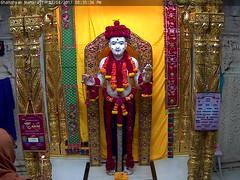 Ghanshyam Maharaj Shayan Darshan on Fri 07 Apr 2017 (bhujmandir) Tags: ghanshyam maharaj swaminarayan dev hari bhagvan bhagwan bhuj mandir temple daily darshan swami narayan shayan