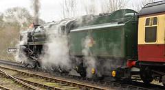 SEVERN VALLEY RAILWAY SPRING GALA (chris .p) Tags: svr severnvalleyrailway 9f nikon d610 gala spring 2017 view shropshire uk railways train march capture rails