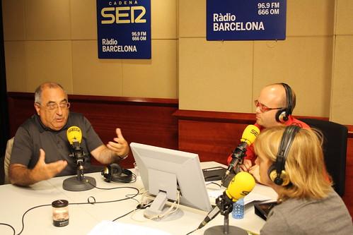 Joaquim Nadal, Frederic Vincent i Gemma Nierga