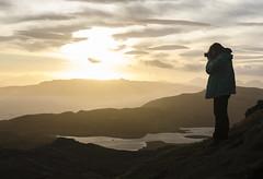 Photographer's dream (Minimoyys) Tags: oldmanofstorr scotland ecosse trip travel journey voyage photo photographer nikon d7000 35mm sunset europe hiking randonnee loch lac lake nature portrait backlight contrejour