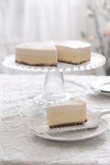 baked vanilla cheesecake (asri.) Tags: 2017 onwhite homemade baking foodstyling foodphotography stilllifephotography 85mmf14