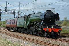 60103 Heamies Farm 11/04/2017 (Brad Joyce 37) Tags: 60103 flyingscotsman 5z72 wcrc steam locomotive engine train supportcoach westcoastmainline wcml heamiesfarm staffordshire sunshine nikon d7100 bestshotoftheday
