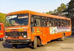 Buldhana - Darwha (yogeshyp) Tags: msrtc maharashtrastatetransport msrtcparivartanbus buldhanadarwhastbus darwhadepotbus