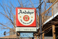 Andecker Beer, Pabst Brewing Co. (Cragin Spring) Tags: wisconsin wi midwest urban unitedstates usa unitedstatesofamerica milwaukee milwaukeewi milwaukeewisconsin city pabstbrewingcompany andecker andeckerbeer beer beersign piwo bier