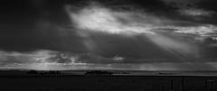 Punta del Diablo, Uruguay. Junio 2016. (Matias Baeza) Tags: uruguay blanco negro black white sunset sunshine clouds matias baeza