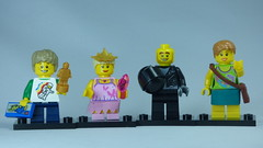 Brick Yourself Bespoke Custom Lego Figure Happy Family