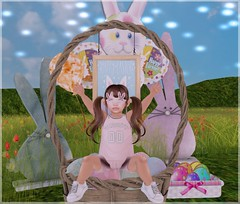 Never 2 Late for Easter Piccies! Featuring Little Miss & Tiny Gems! (♥ Ellie ♥ Oh Pie Gosh ♥) Tags: res baby barberyumyum littlemiss serenitystyle tinygems toddleedoo wishes