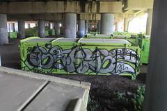 Gorge (nobammermane) Tags: gorge fdp gtoet oakland graffiti