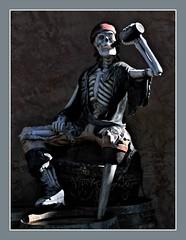 Well shiver me timbers...it's ol' Peg Leg Pete (Starkrusher) Tags: parker arizona peglegpete pirate bottleofrum