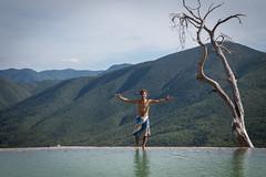 Oaxaca Hierve el Agua pools