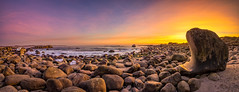 The rock (Richard Larssen) Tags: richard richardlarssen rogaland jæren larssen landscape light rocks rock beach hå horizon sony scandinavia sea seascape sky sunset scenery sel1635z sonyalpha teamsony norway norge norwegen nature a7ii photography zeiss