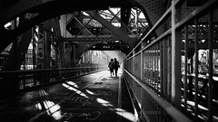 Staycation (Dj Poe) Tags: nyc ny brooklyn manhattan newyork newyorkcity city street streets bw blackandwhite andrewmohrer djpoe 2017 sony zeiss zeisscameralenses sonyilce7rm2 sonyar7ii sonya7r2 people availablelight distagont225 ze 25mm carlzeisslenses bridge williamsburgbridge