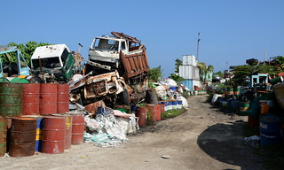 Thilafushi / ތިލަފުށި (Maldives) - Garbage Island