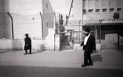 Mea Shearim (Valentine Kleyner) Tags: leica heliar voigtlander meashearim jerusalem israel bw street orwo fomadon film