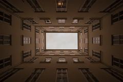 Symmetry in perfection... (Robert Körner) Tags: symmetry house symmetrie haus gebäude wien vienna austria österreich perspektive zenit d40x rawbert|k|photo