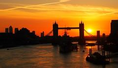 Sunrise over the river Thames (Edek Giejgo) Tags: