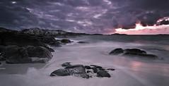 Åkrasand Oktober 2014 (Eivind Nielsen) Tags: sunset sea landscape shore