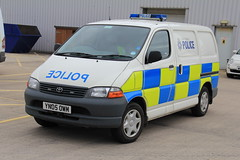 South Yorkshire Police Toyota Hiace Collision Investigation Unit (PFB-999) Tags: south yorkshire police toyota vehicle leds van beacons grilles collision unit investigation hiace lightbar syp ciu rotators yn05owm