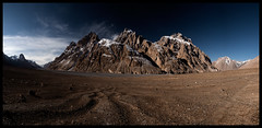 Approaching the Aghil Pass (doug k of sky) Tags: china river doug pass east valley xinjiang karakoram turkestan aghil mountainscapes shaksgam kofsky