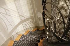 WIDOMSV: Louvre Montana (Explore) (G-daddyArt) Tags: paris france stairs hotel louvre wroughtiron stairway