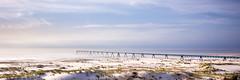 wharf panorama sky 3:1 (Nicolas Reggiani) Tags: bridge panorama landscape wharf panoramique bassindarcachon gironde latestedebuch lasalie