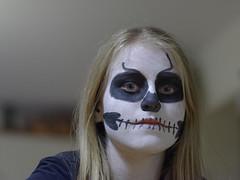 Scary Halloween[explored] (Karl Le Gros) Tags: portrait halloween girl kids scary explore 2014 explored xaviervonerlach