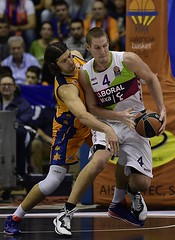 Game 4 Euroleague. Valencia Basket-Laboral Kutxa Baskonia