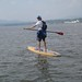 Chris Paddling