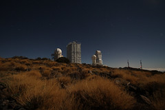 Moonlight shadows at the Observatorio del Teide (rvr) Tags: observatory teide esa observatorio socialspace spaceoptics