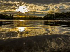 IMG_1786 (Shawn Wagner Photography) Tags: sun clouds landscape boats shawneemissionpark
