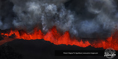 9860-157-639 (Ragnar TH) Tags: red hot fire volcano lava iceland glow smoke steam glowing temperature volcanic eruption hotspot magma fissure erupting bardarbunga holuhraun