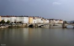 en passant par les quais de Sane (Elyane11) Tags: lyon ciel pont quai sane saariysqualitypicturesgallery