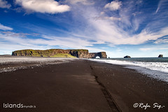 Dyrhólaey (formerly known as Cape Portland by English seamen) -south coast of Iceland,