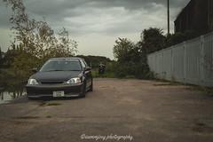 Connors_Civic-99 (Sammjoey Photography) Tags: auto reflection cars sports car metal racecar honda low spoon racing static civic osaka carbon jdm stance vtec fitment modifed ek9 kanjo 6two1 tegiwa sammjoey
