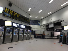 Buy here (stevenbrandist) Tags: morning travel early leicestershire leicester rail railway travelogue networkrail leicestertrainstation