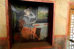 Pinturas murales en el Palacio Ali Qapu Isfahn Irn 06 (Rafael Gomez - http://micamara.es) Tags: en mural iran paintings persia el palace ali  murales   paredes isfahan pinturas palacio irn frescos   qapu     isfahn qapur