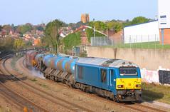67003 Irthlingboro Rd Wellingboro (NB Railways) Tags: dbs wellingborough class67 rhtt railheadtreatmenttrain 67003 3j92