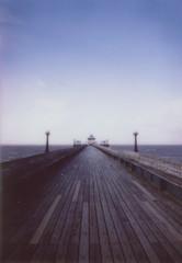 (mister sullivan) Tags: england english pier seaside fuji victorian mini clevedon instax clevedonpier roidweek roidweek2014