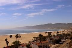 Santa Monica beach (Cora Rib) Tags: sea santamonica palmtrees santamonicabeach corarib