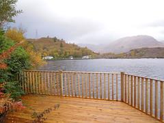Stronachlachar (Vijay_ktyely) Tags: autumn scotland pier loch katrine stronachlachar