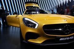 New Mercedes SLS AMG GT (louishuaume) Tags: paris mercedes martin huracan ferrari bmw salon jaguar lamborghini m4 aston voitures vantage supercars gts i8 rapide carspotting multicars aventador