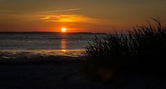 Sun Down (MR-Fotografie) Tags: sommerurlaub 2014 kiel nikon d3100 nikkor 18105mm mrfotografie sun down stein strand sonnenuntergang explore