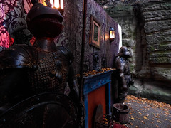 Warwick Castle's Haunted Castle Event (ThemeParkMedia) Tags: castle history halloween night pumpkin witch haunted event horror blackout warwick hollow attraction